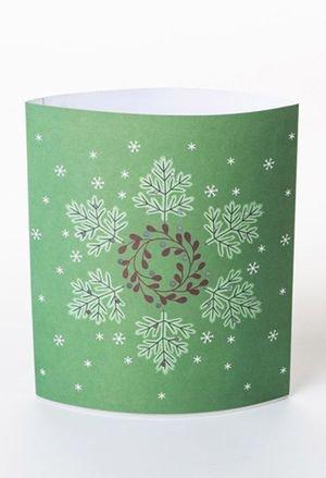 Dreamlight lampara carton led green flake drs0