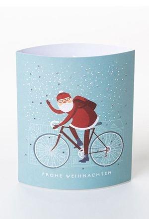 Dreamlight lampara carton led santa bike drs01