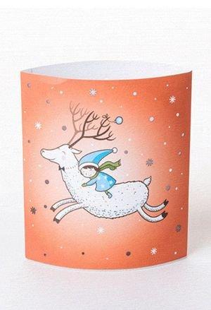 Dreamlight lampara carton led white deer drs01