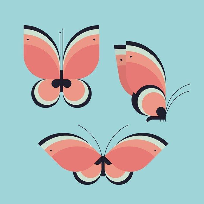 Servilletas bambu 20u butterflies bn114