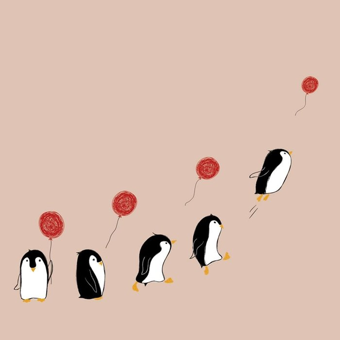 Servilletas bambu 20u penguins bn146