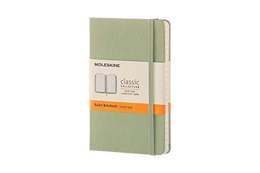 Bloc de notas pocket t/d ruled willow green