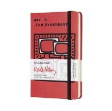 Libreta edicion limitada keith haring pocket lisa rojo esca