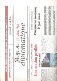 Le monde diplomatique 155 septiembre 2008
