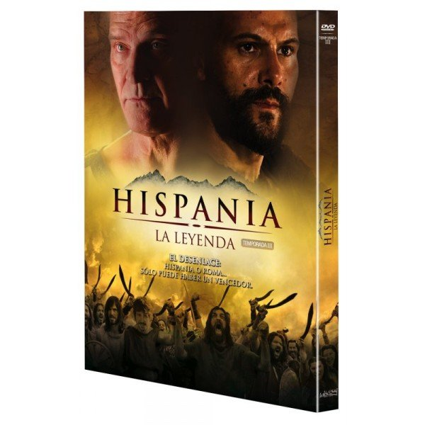 Digipack hispania la leyenda 3ª temporada 1 dvd