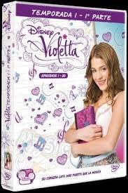 Violetta 1ª temporada parte i 4 dvd