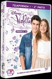 Violetta 1ª temporada parte ii 4 dvd