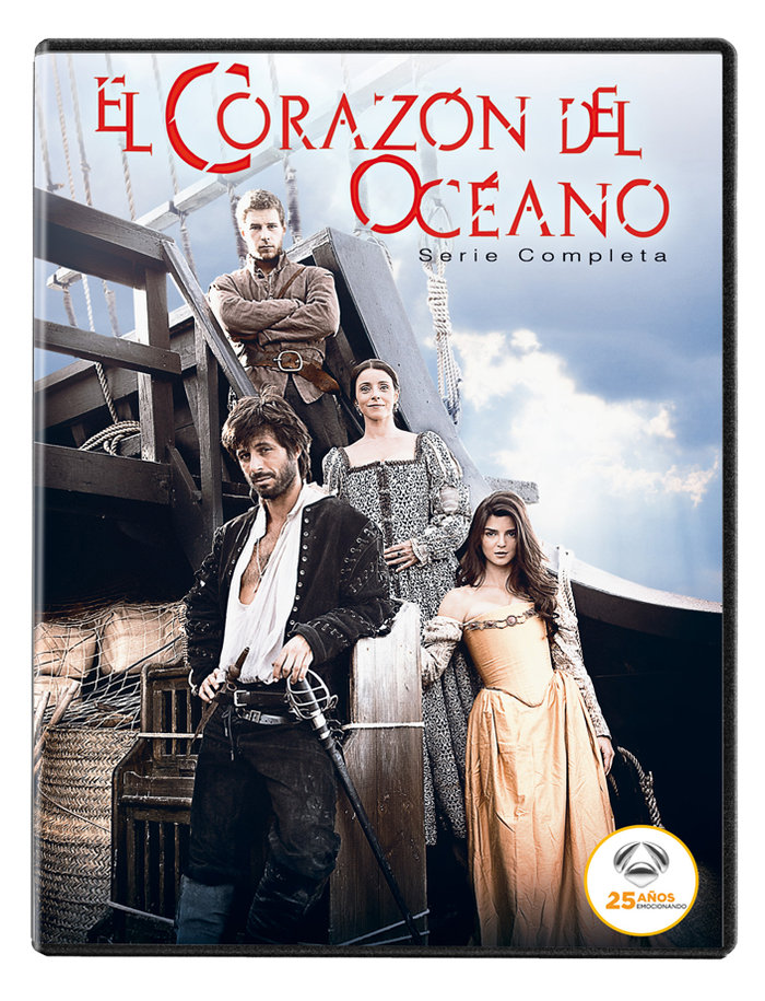 Corazon del oceano serie completa 25 aniversario a3 2dvd