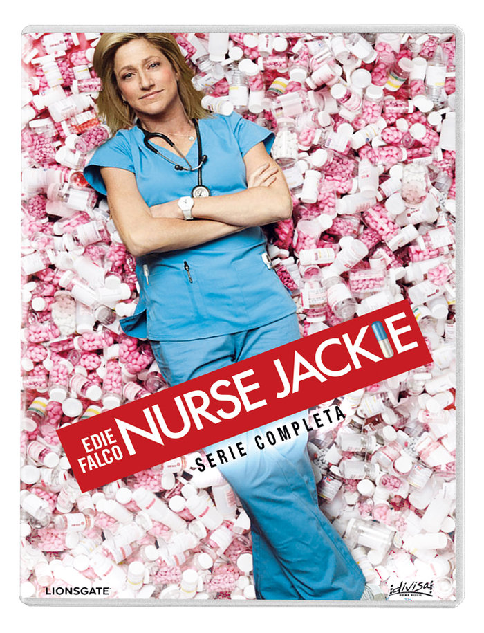 Nurse jackie serie completa 18 dvd