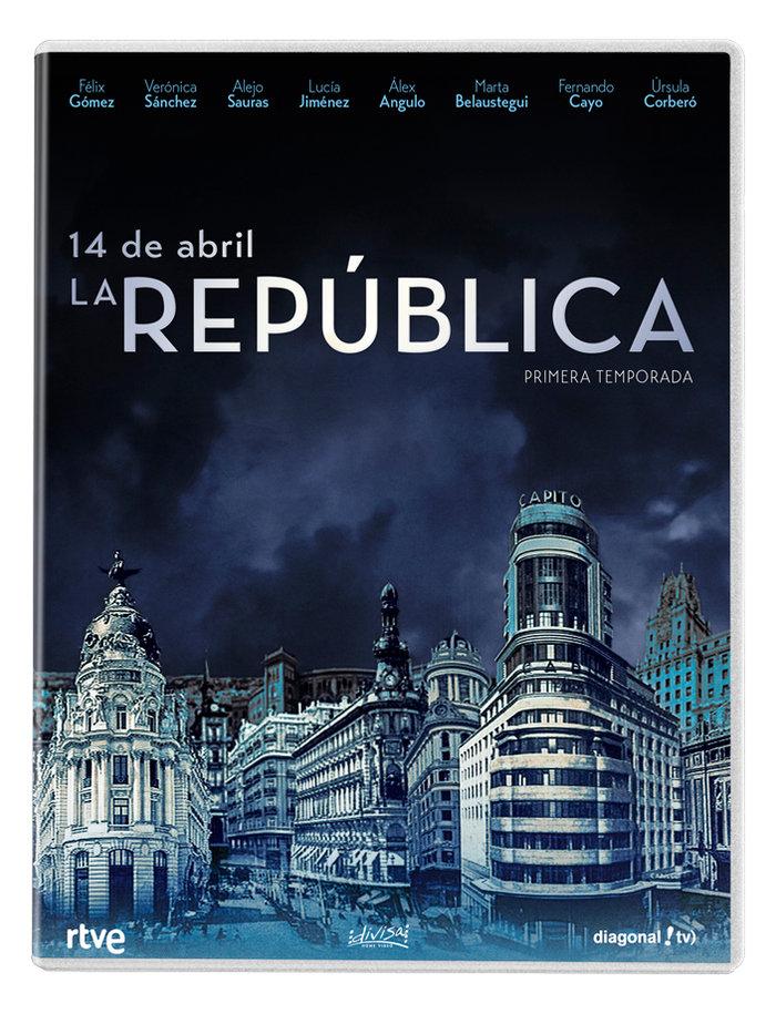 14 de abril la republica 1ª temporada 5 dvd