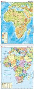 Mapa mural africa fisico politico