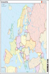 Mapa mudo europa politico color ne