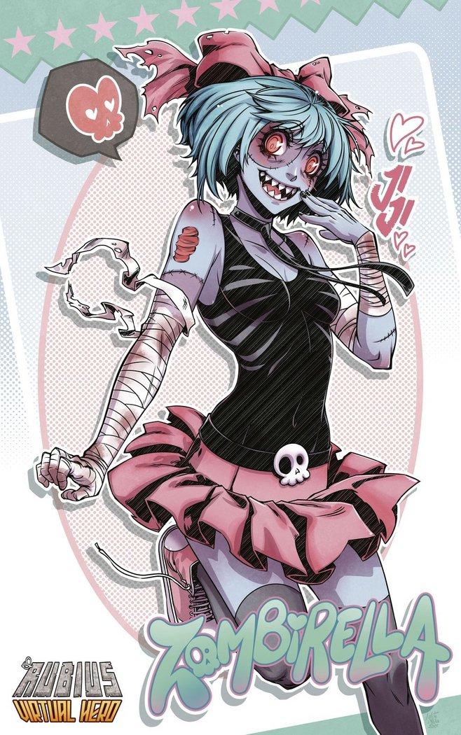 Poster el rubius 3 zombierella