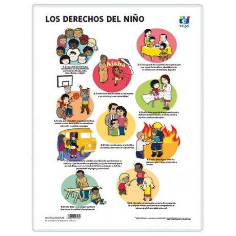 Lamina a3 eso derechos del niño (42x29) valores