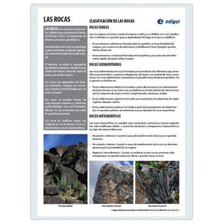 Lamina a3 eso las rocas (42x29) ciencias y ecologia