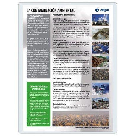 Lamina a3 eso contaminacion ambiental (42x29) cc y ecologia