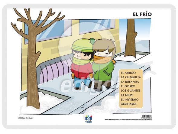 Lamina a3 infantil el frio (42x29)