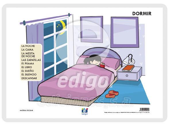 Lamina a3 infantil dormir (42x29)