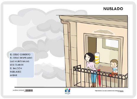 Lamina a3 infantil nublado (42x29)