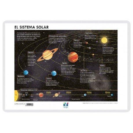 Lamina a3 eso el sistema solar (42x29) astronomia