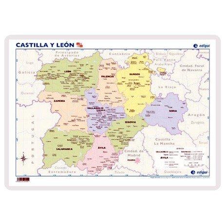 Lamina a3 primaria cast.leon politico (42x29) cartografia