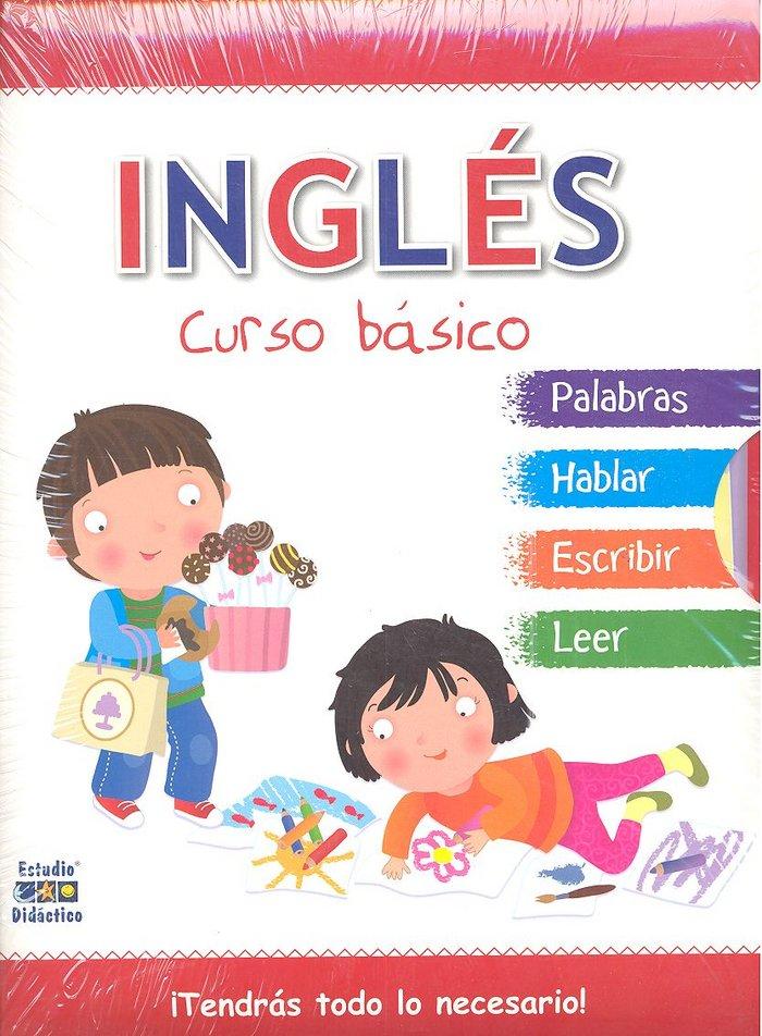 Ingles curso basico pack 4 libros