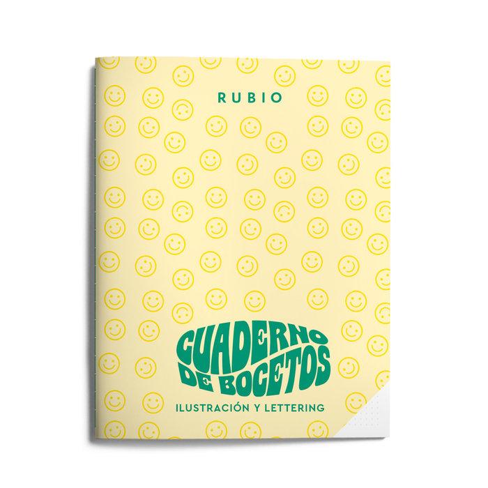Cuaderno bocetos ilustracion y lettering (años 60)