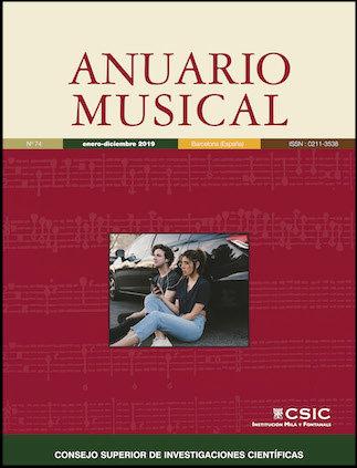 Anuario musical 74 enero diciembre 2019