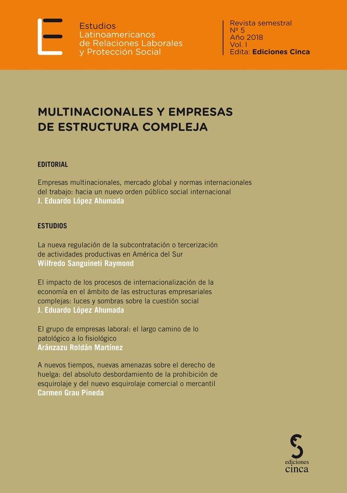 Revista nº5 estudios latinoamericanos relaciones laborales
