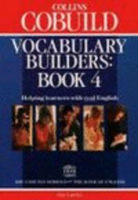 Cobuild vocabulary builders book 4