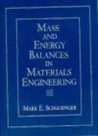 Mass energy balanc.material enginnerin