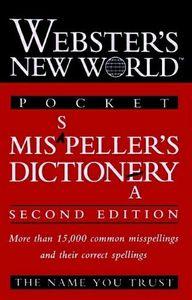 Websters n.w.pocket mis pellers dictio