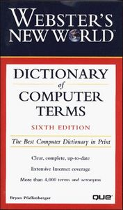 Websters n.w.dictionary computer 6/e