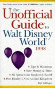 Unofficial guide walt disney world 98