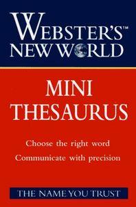 Mini thesaurus (webster  new world)