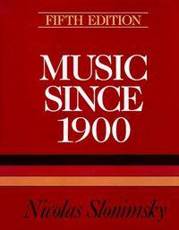 Music since 1900 5ª edi.