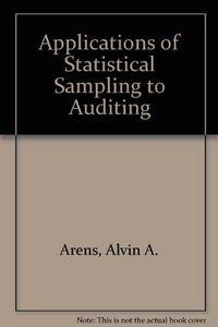 Applications statis.samp.auditing