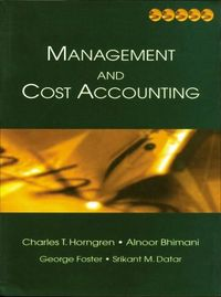 Management cost accouting