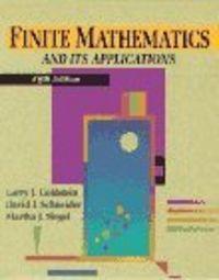 Finite mathematics and its aplication