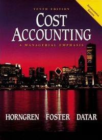 Cost accounting ne