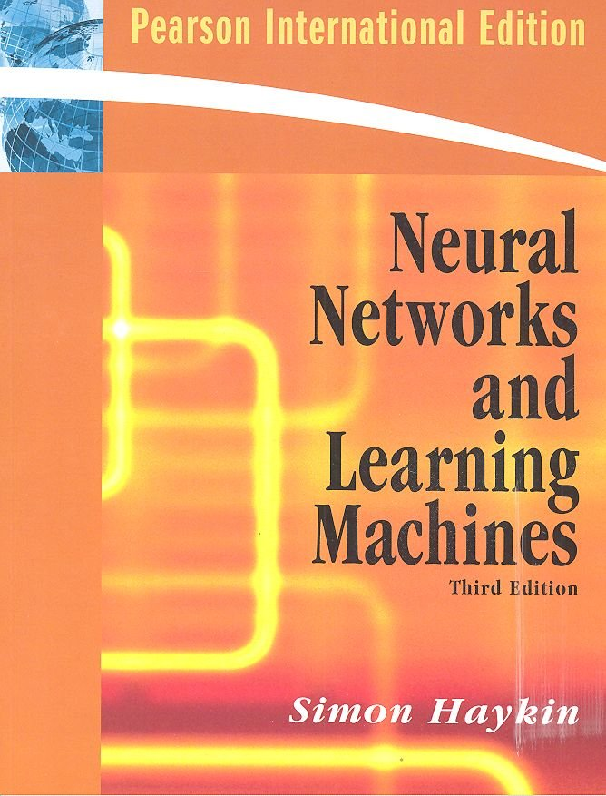 Neural networks and learning machines 3ºed