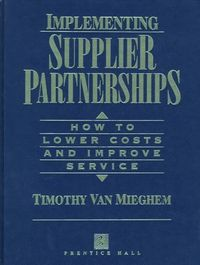Implementing supplier partnerships