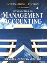 Int.management accounting