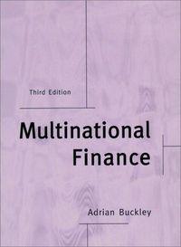 Multinational finance