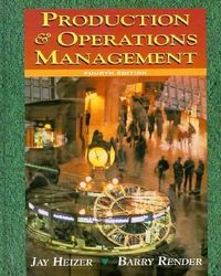 Production operation management 4/e