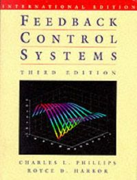 Feedback control systems 3/e