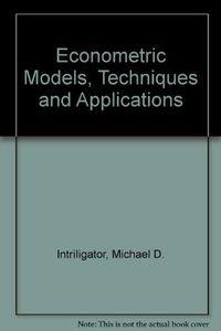 Econometrics models techn.applicat.