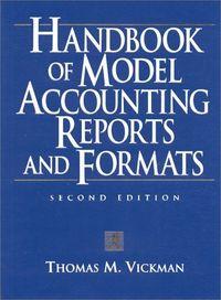 Handbook model accounting rep.formats