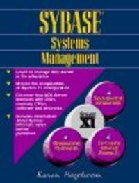 Sybase systems management