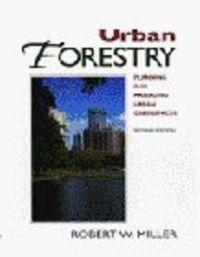 Urban foresty planning